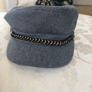 NWT August Hat Company newsboy cap, gray